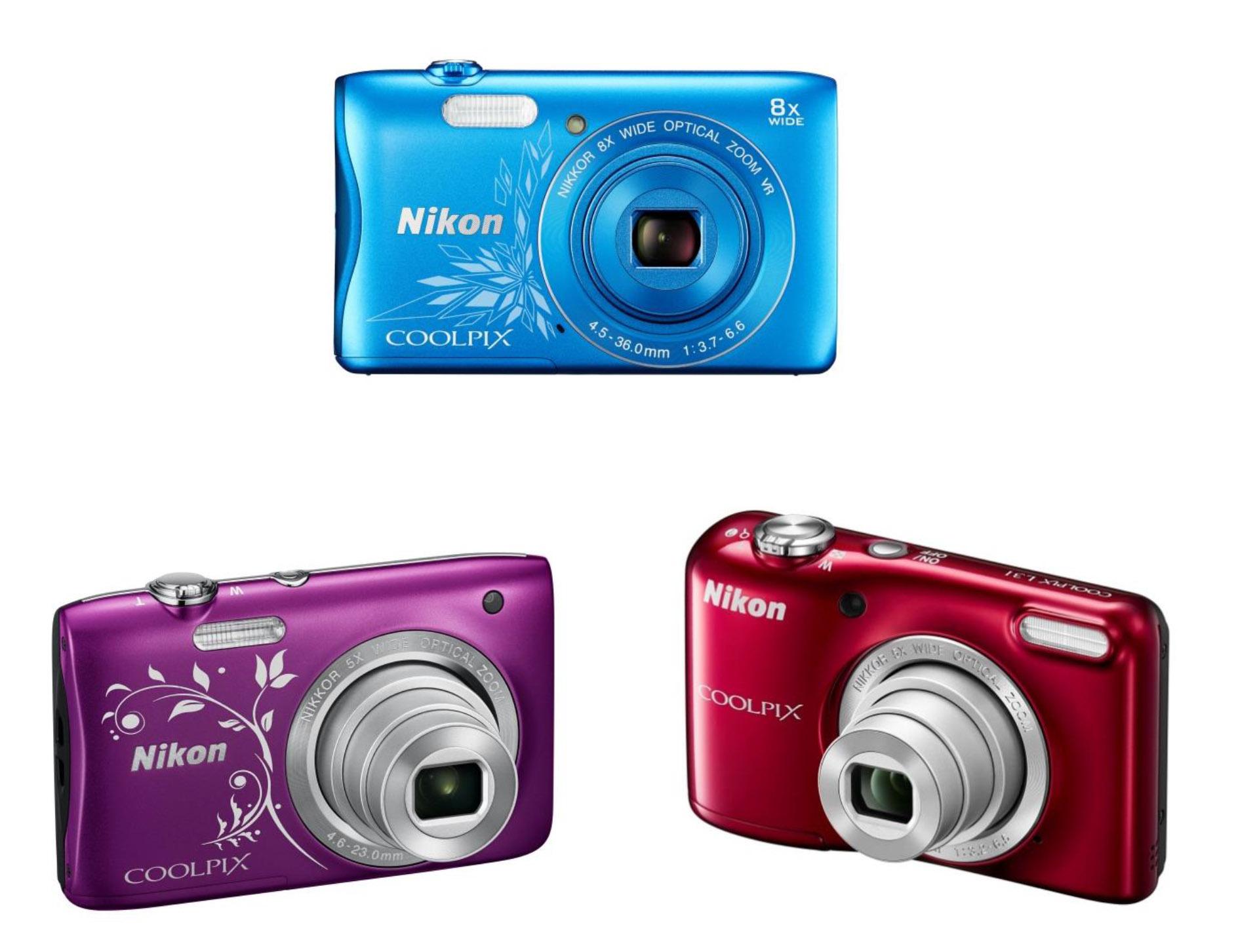 Nikon présente 3 nouveaux COOLPIX
