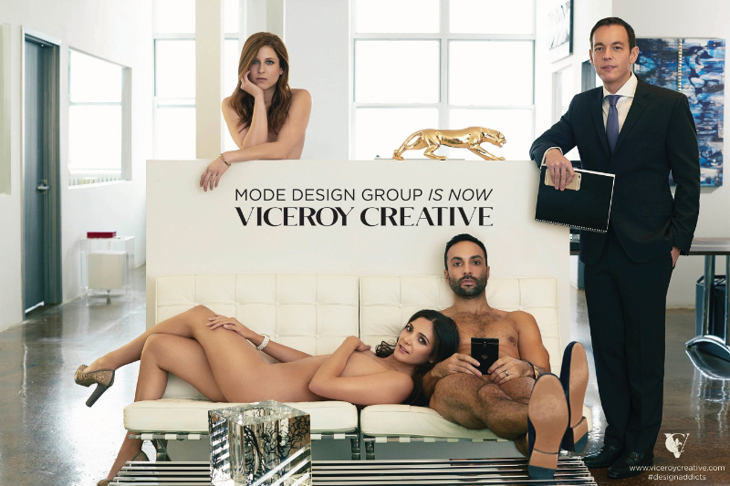 Welcome to Viceroy Creative: Luxury Marketing, Formerly Mode Design Group. (PRNewsFoto/Viceroy Creative)