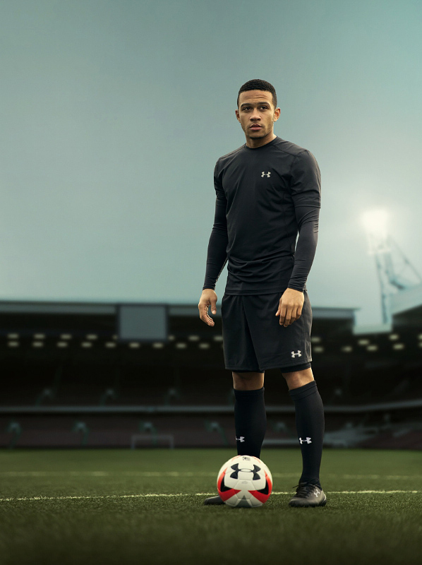 Under Armour Signs Prolific Dutch Footballer Memphis Depay (PRNewsFoto/Under Armour, Inc.)