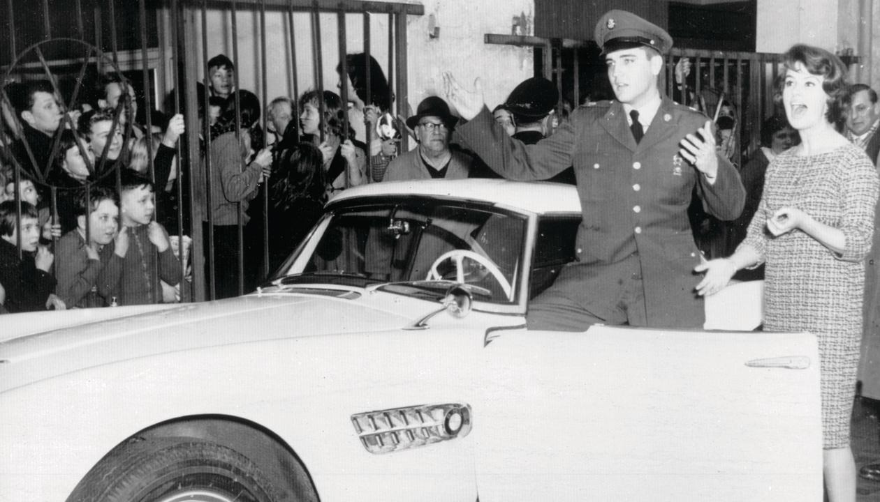 Le Roadster BMW 507 Série I 1957 ayant appartenu à Elvis Presley