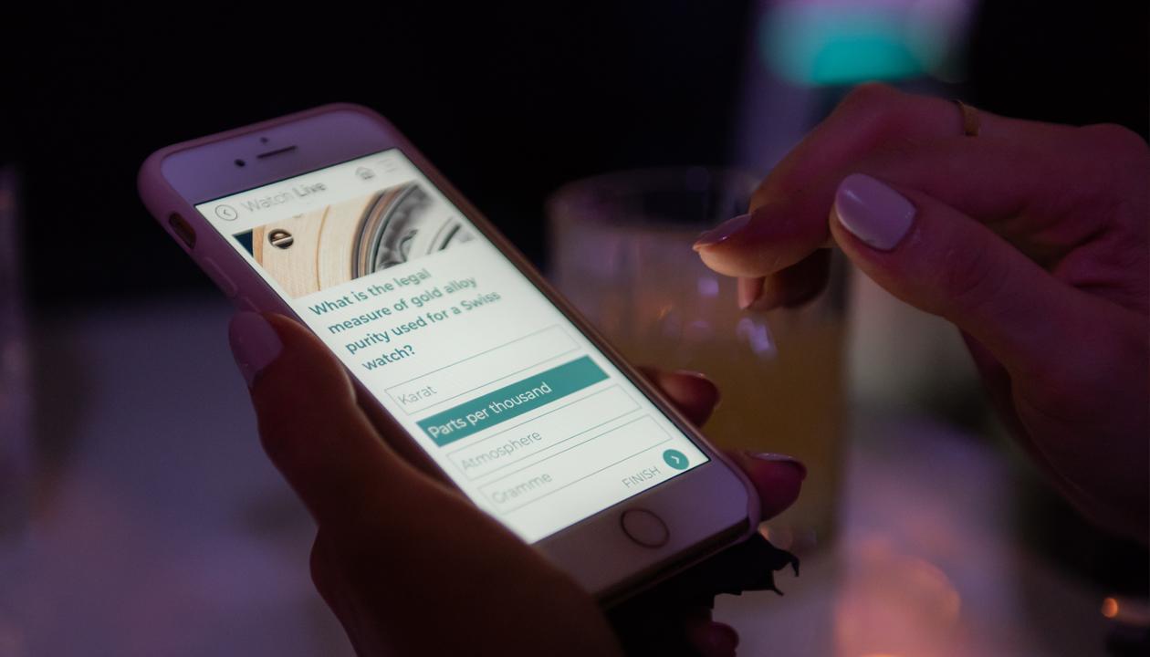 Watch Live? C'est la première App de « Instant Learning » à voir le jour en horlogerie.